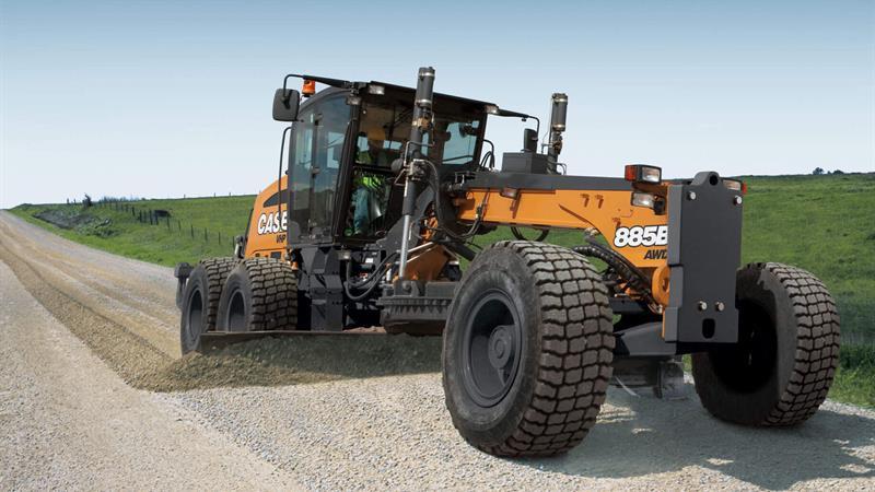 CASE 885B Motor Grader   CASE Construction Equipment