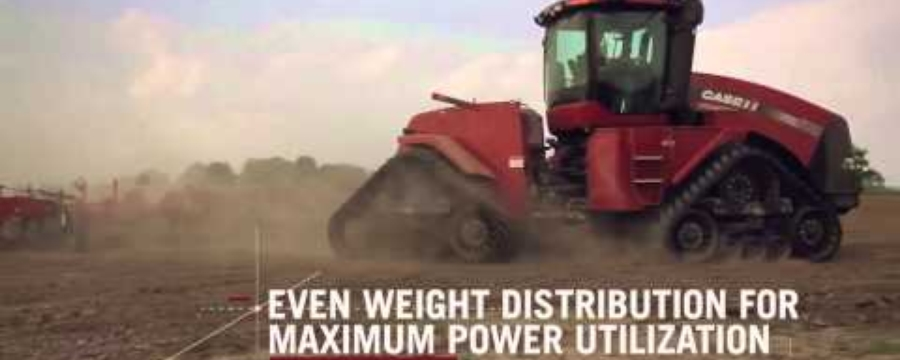 Steiger Tractors: Sistema Quadtrac