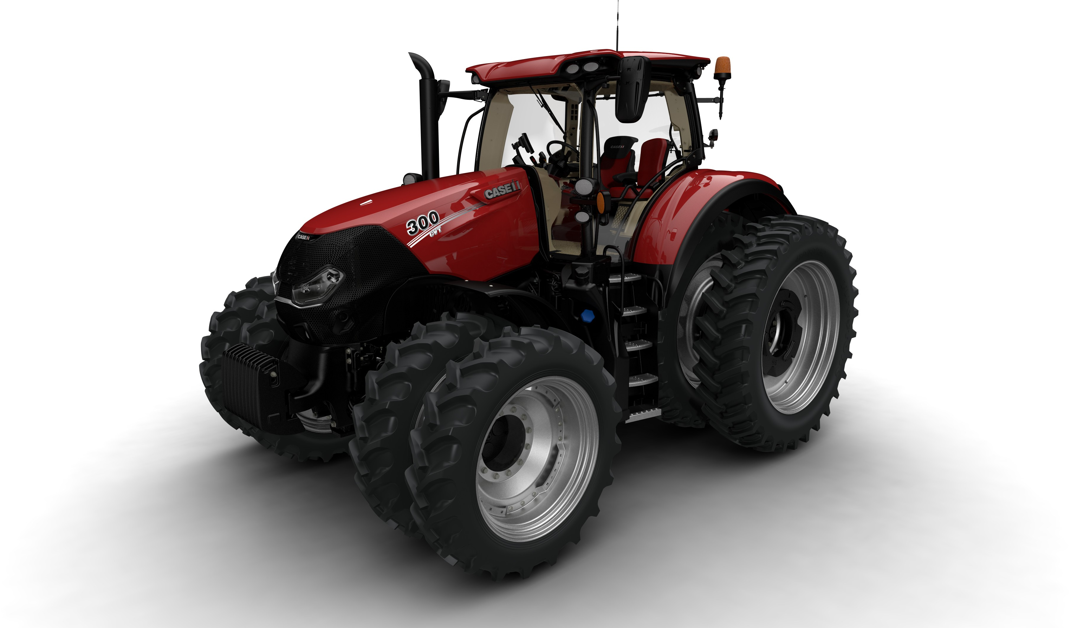 Case Tracked Tractors : Case ih new optum tractor series introduced farms